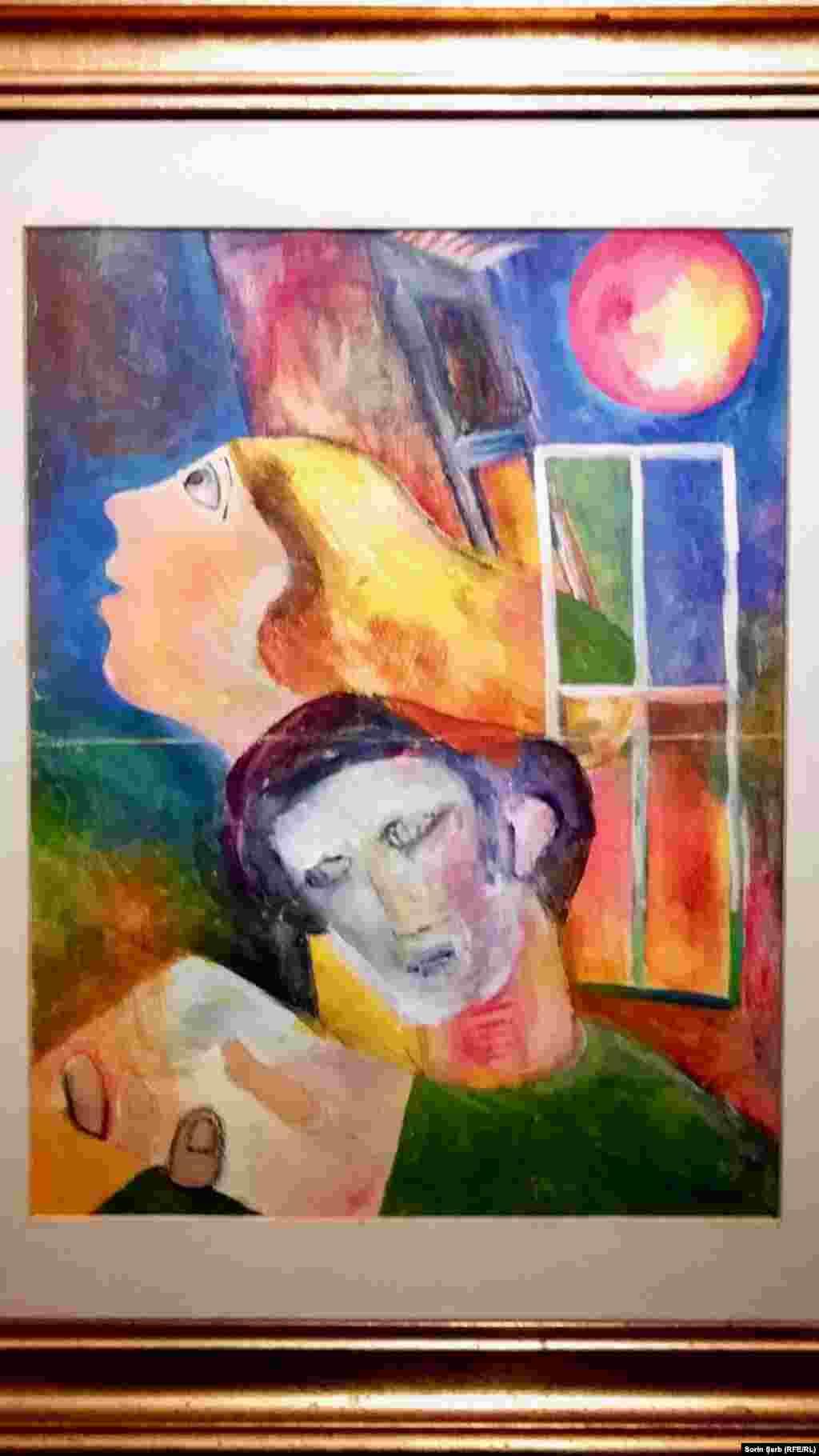 Doru Bucur, Cuplu. Muzeul de Artă Modernă și Contemporană.