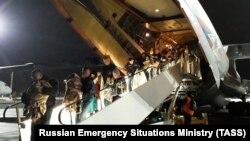 Дети, доставленные в Москву из Ирака в феврале