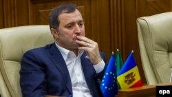 Vlad Filat în Parlament, 15 octombrie 2015