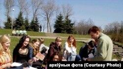 """""""Падпольныя"""" заняткі з Аляксеем Крукоўскім у парку Горкага"""