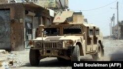 Miliții SDF la Raqqa