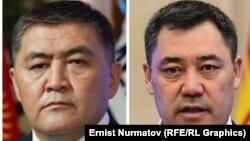 Камчыбек Ташиев и Садыр Жапаров.