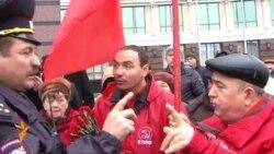 Коммунистлар хакимиятнең китүен таләп итте