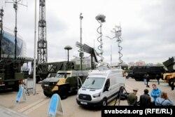 Беларуская станцыя радыёэлектроннай барацьбы зь беспілётнымі лятальнымі апаратамі «Гроза-С»