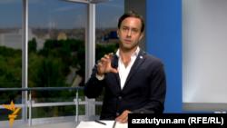 Руководитель офиса ООН в Армении Брэдли Бузетто, Ереван, 25 октября 2015 г..