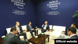 საქართველოს პრემიერ-მინისტრისა და მსოფლიო ეკონომიკური ფორუმის დამფუძნებლის, კლაუს შვაბის შეხვედრა
