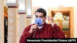 Николас Мадуро в очередной раз выступает с телеобращением к народу