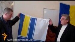 Активісти врятували з окупованого Криму державні символи українських військових