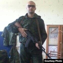 Бойовик угруповання «ДНР» Олег Галан («Ганс»)