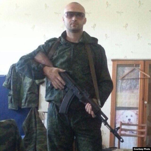 Боевик группировки «ДНР» Олег Галан ( «Ганс»)