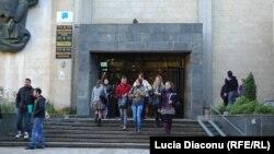 """Universitatea """"Ion Creangă"""", Chişinău."""