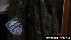 Шеврон общественного формирования Генического района