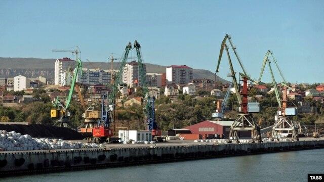 Makhachkala port
