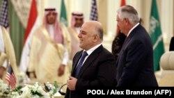 Сауд Аравия-Ирак координациялык кеңешинин жыйыны. Эр-Рияд, 22-октябрь, 2017-жыл.