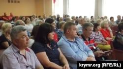 Публичные слушания в Севастополе, 4 мая 2018 года