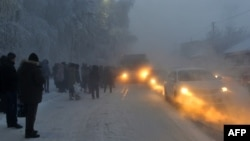 В Астане в связи с резким ухудшением погодных условий было объявлено ЧС. Иллюстративное фото.
