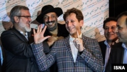 Babak Zanjani (C), during his heydays.