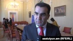 Замминистра экономики Армении Гагик Мелконян, 11 ноября 2014 г․