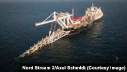 """Строительство газопровода """"Северный поток – 2"""" в Балтийском море"""