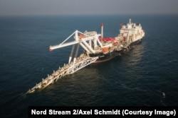 Будівництво підводного газогону «Північний потік-2»