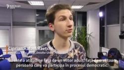 """""""În R. Moldova mediul ca și cum te-ar penaliza pentru că ești tânăr, mai ales dacă vrei să te implici"""""""