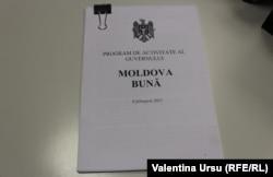 """Moldova -- Programul de activitate al Guvernului - """"Moldova mea"""" -, propus de premierul desemnat Natalia Gavriliță"""