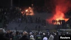 Порт-Саид қаласындағы стадион. 1 ақпан 2012 ж.