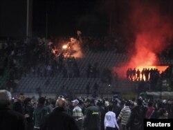 Порт Сәит стадионындагы бәрелеш