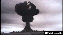 Первое советское испытание атомной бомбы. Семипалатинск, 1949 год