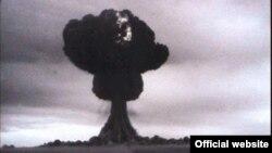 Семей полигонындағы алғашқы атом бомбасы сынағы. 29 тамыз 1949 жыл.