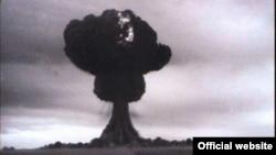 Первое испытание советской ядерной бомбы на Семипалатинском полигоне. 29 августа 1949 года.