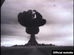 Алғашқы советтік ядролық жарылыс. Семей полигоны, 29 тамыз 1949 жыл.