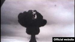 Семейдегі алғашқы атом қаруы сынағы. 29 тамыз 1949 жыл. (Көрнекі сурет)