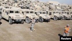 Американские военные в Ираке. 3 ноября 2011 года. Иллюстративное фото.