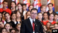 Serbian President Aleksandar Vucic has pledged to root out high-level corruption