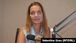 Margareta Crudu la Radio Europa Liberă