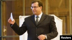 Moldova's acting president, Marian Lupu