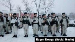Belarus - training in belarusian Army, January 2015