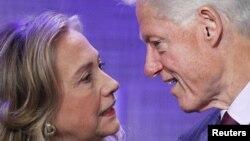 Hillary və Bill Clinton-lar