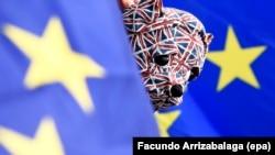 Демонстрация сторонников Евросоюза в Лондоне. Иллюстративное фото.