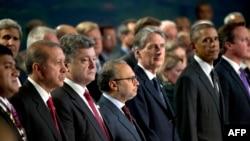 Петро Порошенко серед голів держав і урядів країн-членів НАТО, 4 вересня 2014 року
