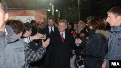 Предизборен митинг на кандидатот на ВМРО-ДПМНЕ за претседател на Македонија, Ѓорѓе Иванов во Ресен.