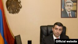 Armenia -- Mihran Poghosian, head of a Justice Ministry division tasked with enforcing court rulings.