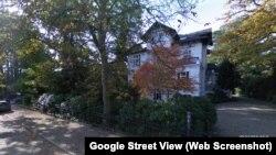 Будинок у Гамбурзі, у якому, за даними видання «Українська правда», мешкає родина Віталія Кличка