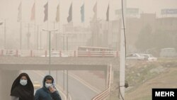 گرد و غبار در لرستان