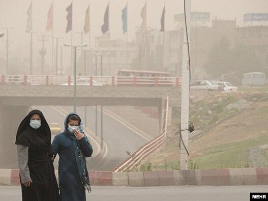 اهواز آلوده ترين شهر جهان ازنظر ذرات معلق در هوا است