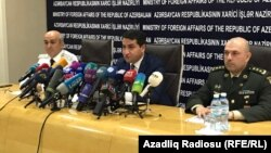 Azərbaycan Xarici işlər nazirliyində brifinq. 5 iyul 2017