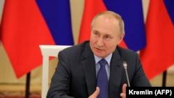 Președintele rus Vladimir Putin, 29 noiembrie 2019.