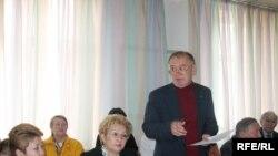 Очередное заседание общественного совета в офисе партии «Нур-Отан». Алматы, 30 сентября 2008 года.