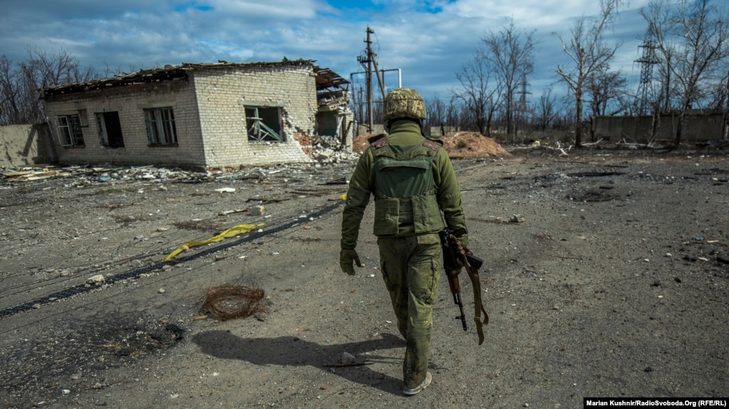 The reported fatal incident occurred in the front-line town of Avdiyivka. (file photo)